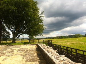 More stunning countryside views at Birdoswald Fort