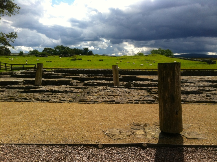 Some beautiful sumptuous views at the back of Birdoswald Fort