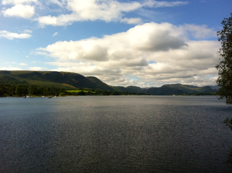 Once again, more stunning views of the lakes at Ullswater