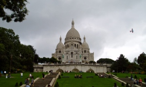 The Sacre Coeur - 'sacred heart'