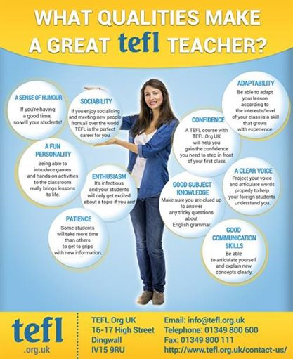 tefl qualities