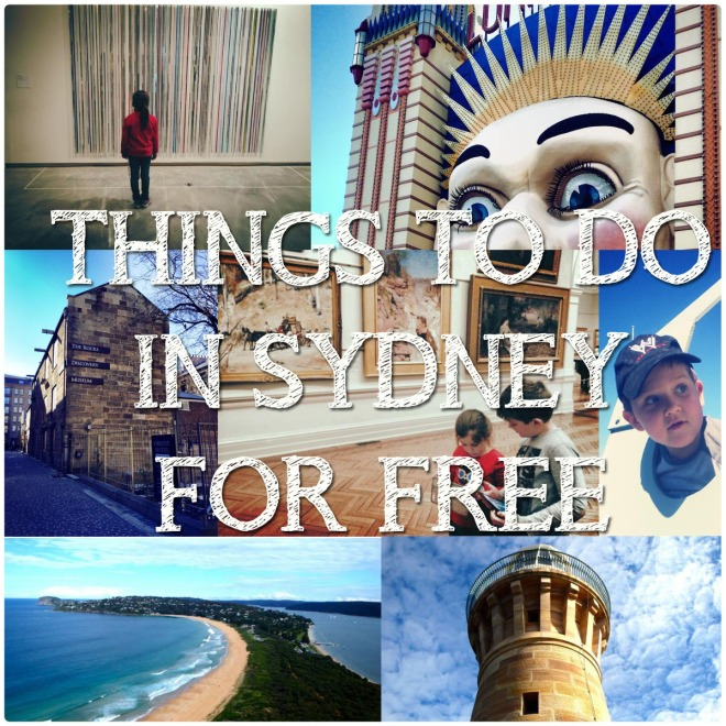 Travelling With Kids : Things To Do In Sydney For Free